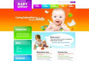 webová stranka pre Detske atrakcie a zabavu