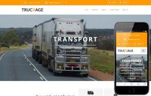 Webové stránky pre Kamiónovú dopravu