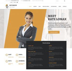 Webové stránky pre Právnicke firmy