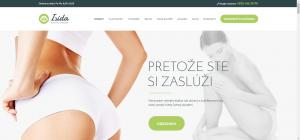 Webové stránky pre salón krásy