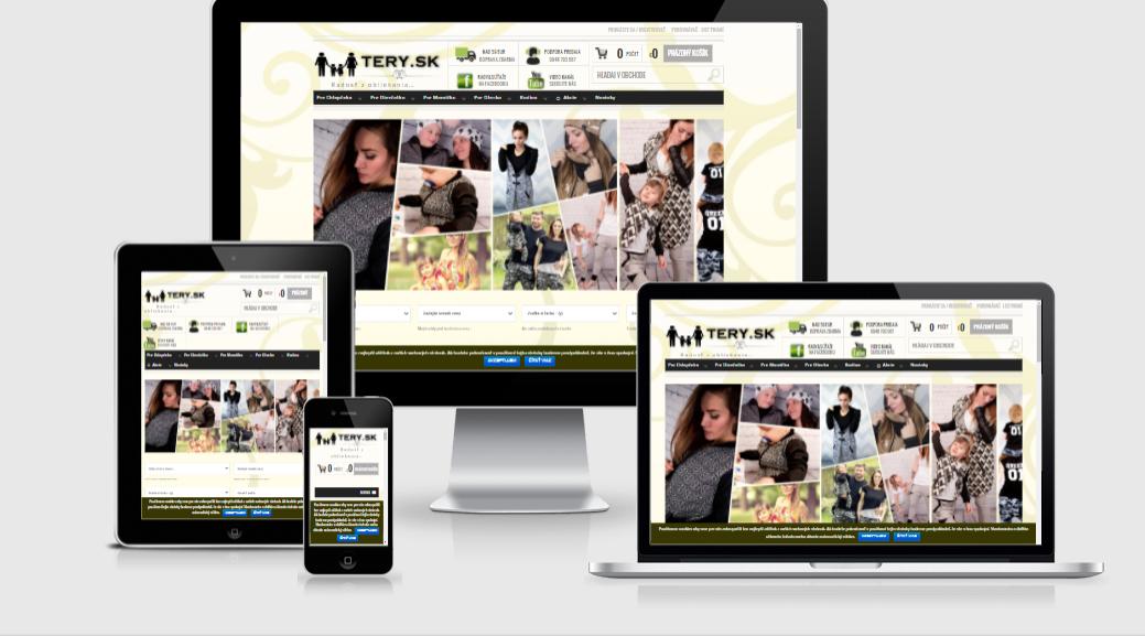TERY.sk - Obchod s oblečením pre rodiny