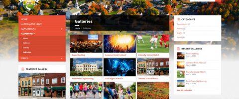 Webová stránka pre obce, mesta, občianské združenia a neziskovky (8)