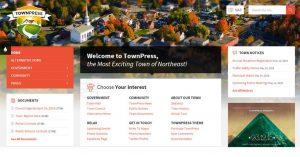 Webová stránka pre mesto